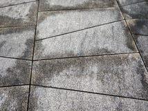 Dias de inverno de pedra bonitos do fundo da estrada foto de stock royalty free