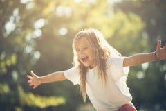 Dias despreocupados da infância fotografia de stock