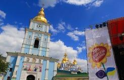 Dias do festival de Europa em Kiev, Ucrânia Fotografia de Stock Royalty Free