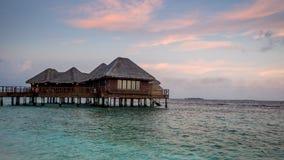Dias felizes em Maldive Fotografia de Stock Royalty Free