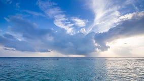 Dias felizes em Maldive Imagem de Stock Royalty Free