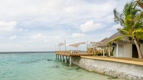 Dias felizes em Maldive Fotos de Stock Royalty Free