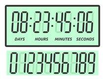 Dias, horas, minutos, segundos Foto de Stock Royalty Free