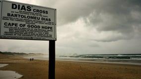 Dias krzyż - Boknesstrand Obraz Royalty Free
