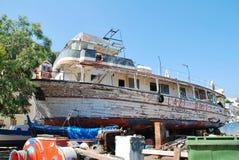 Dias preguiçosos, ilha de Symi Imagem de Stock