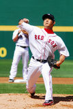 Diasuke Matsuzaka, Boston Red Sox Royalty Free Stock Photos