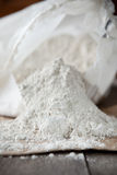 Diatomaceous earth. Natural and organic insecticide that kills insects by breaking their exoskeletons causing them to dehydrate. Also used in industry as Stock Image