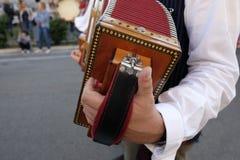 Diatonische harmonika royalty-vrije stock foto