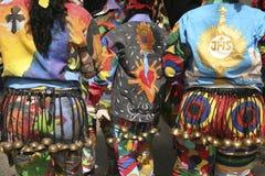 Diavoli dei ballerini di Naiguata durante il festival religioso sul corpus Christi Day, Venezuela Immagine Stock Libera da Diritti
