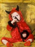 Diavolo del bambino Immagine Stock
