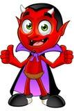Diavolo del fumetto - due pollici su royalty illustrazione gratis