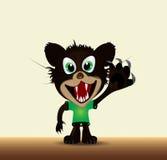 Diavolo tasmaniano del fumetto Fotografia Stock Libera da Diritti