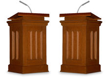 Dibattito Fotografie Stock