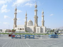 Dibba Mosque. Mosque at Dibba, Musandam at the UAE Oman border stock photos