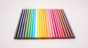 Dibujaron a lápiz todos los colores imagenes de archivo