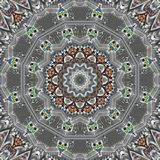 Dibujo abstracto en la escala gris, cuadrado Fotos de archivo libres de regalías