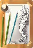 Dibujo adolescente Libre Illustration