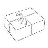 Dibujo de la caja Fotografía de archivo libre de regalías