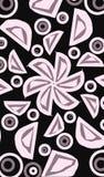 dibujo de la flor y de los pétalos ilustración del vector