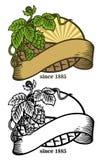 Dibujo de la mano de saltos y de la cinta libre illustration