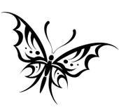 Dibujo de la mariposa del vector Imágenes de archivo libres de regalías