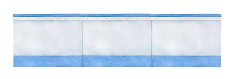 Dibujo de los tableros en blanco de la arena imagen de archivo