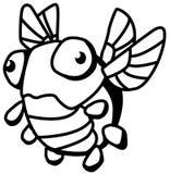Dibujo de Odd Bug Small Cartoon Line ilustración del vector