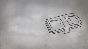 Dibujo de papel de las cuentas