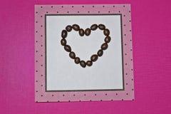 Dibujo del corazón fotos de archivo libres de regalías
