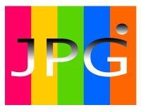 Dibujo del logotipo del fichero del jpg stock de ilustración