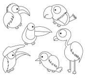 Niño del pájaro Ilustración del Vector
