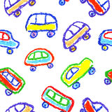 Dibujo del ` s del niño de coches ilustración del vector