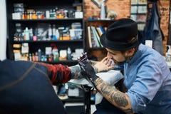 Dibujo del tatuaje Foto de archivo libre de regalías