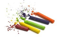 Dibujo en colores pastel Imágenes de archivo libres de regalías
