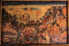 Dibujo en la literatura (cultura de Tailandia) Foto de archivo