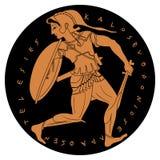 Dibujo griego del vector ilustración del vector