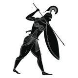 Dibujo griego del vector Fotos de archivo
