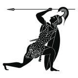Dibujo griego del vector Fotografía de archivo