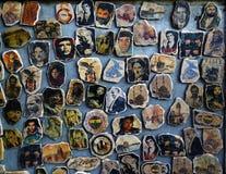 Dibujos artísticos de la celebridad Imagenes de archivo