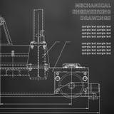 Dibujos de la ingeniería industrial libre illustration