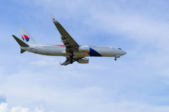 24 DIC 2016 AIRPLAIN IN DE INTERNATIONALE LUCHTHAVEN KUALA LUMPUR VAN KLIA Stock Foto