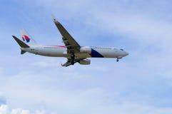 24 DIC 2016 AIRPLAIN EN EL AEROPUERTO INTERNACIONAL KUALA LUMPUR DE KLIA Foto de archivo