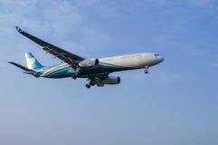 25 DIC 2016 AIRPLAIN A KUALA LUMPUR Fotografie Stock