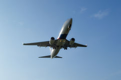 25 DIC 2016 AIRPLAIN IN KUALA LUMPUR Stock Afbeeldingen