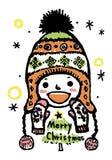 Dica il Buon Natale Fotografie Stock