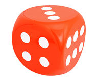 Dice. On the white background Stock Photo