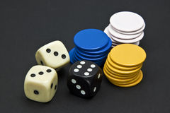 The dice Stock Image