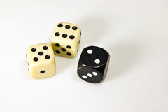 The dice Royalty Free Stock Images