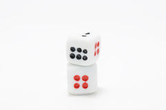 Dice. This is a dice in isolated shot Royalty Free Stock Images