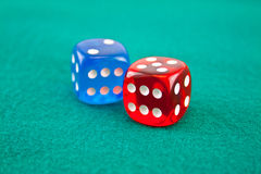 Dice 2 Stock Photo